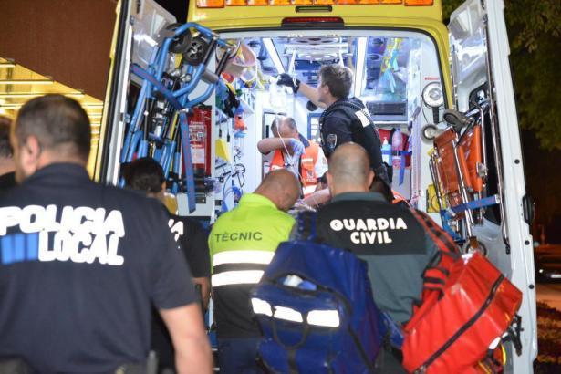 Der Verletzte wurde ins Krankenhaus Son Espases gebracht.