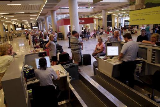Checkin-Schalter am Airport von Palma (Archivfoto).