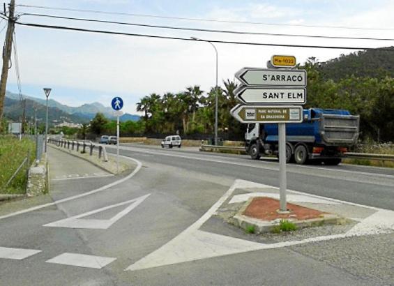Die Kreuzung soll einem Kreisverkehr weichen.