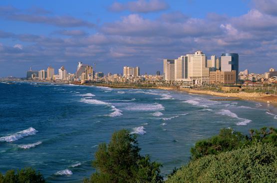 Tel Aviv liegt wie Palma de Mallorca am Mittelmeer.