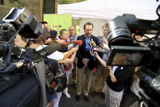 """Ministerpräsident José Ramón Bauzá hat den Sozialisten einen """"Stabilitätspakt"""" vorgeschlagen."""