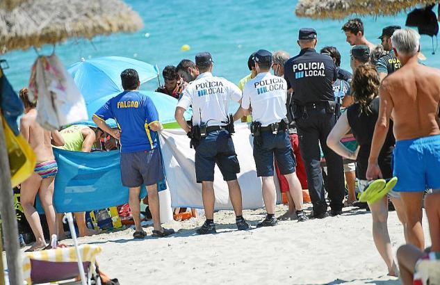 Die Rettungskräfte auf Mallorca konnten dem Mann nicht mehr helfen.
