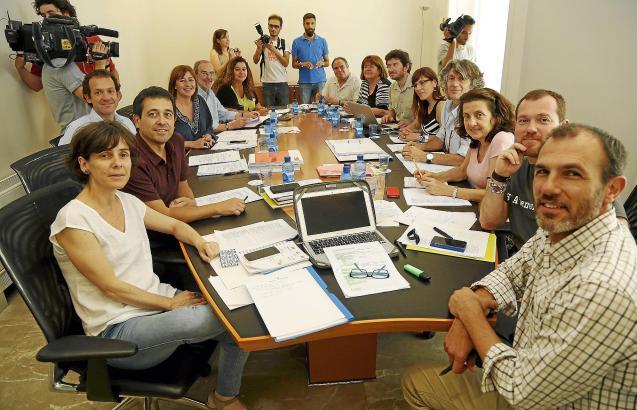 In den meisten Punkten wurden sich die Vertreter von PSIB, Més und Podemos bei den Koalitionsgesprächen schnell einig.
