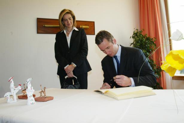 Cristina Borbón und Iñaki Urdangarín bei einem Besuch auf Mallorca.