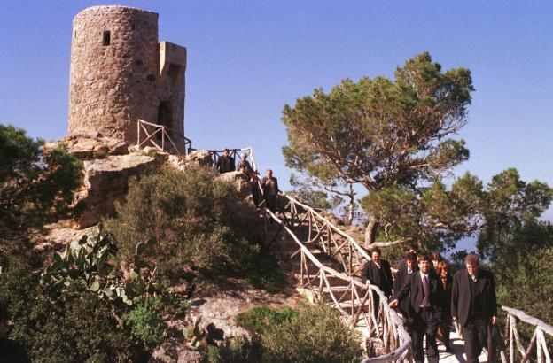Im Jahre 2000 besuchte der damalige balearische Ministerpräsident Francesc Antich offiziell dem Wachttum von Banyalbufar.