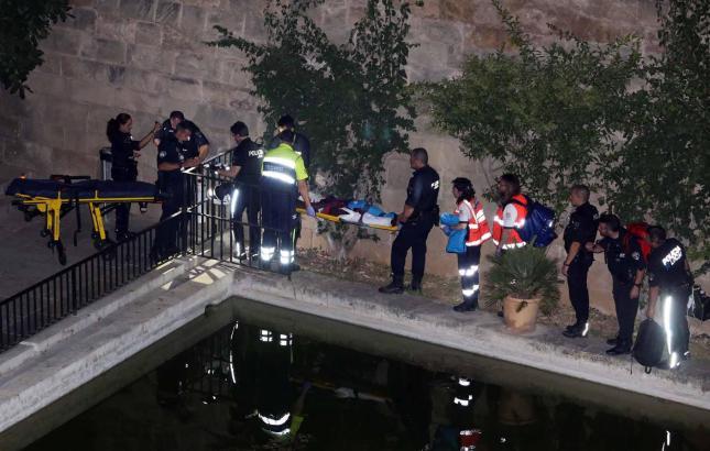 Der Verletzte wurde ins Krankenhaus Son Espases gebracht