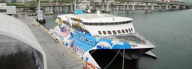 Die Pinar del Rio verkehrt bereits zwischen Fort Lauderdale und Nassau.