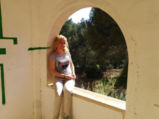 Hier noch angezogen: Maite Carrizo will in Pamplona nackig gegen den Stierkampf protestieren.
