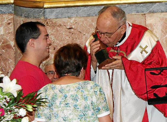Joan Bestard bei seinem 50-jährigen Priesterjubiläum auf Mallorca.