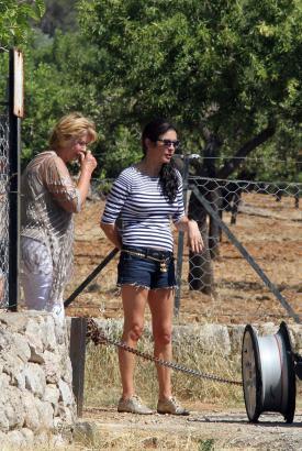 Catherine Zeta Jones und ihre Mutter hatten eine Reifenpanne