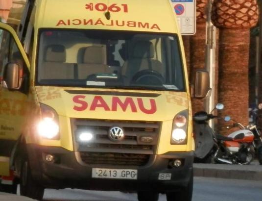 Zwei Menschen wurden am Wochenende auf Mallorcas Straßen schwer verletzt.
