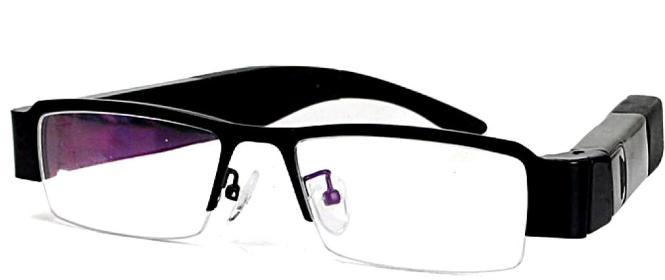Diese Spionagebrille mit Kamera hat die Polizei auf Mallorca sichergestellt.
