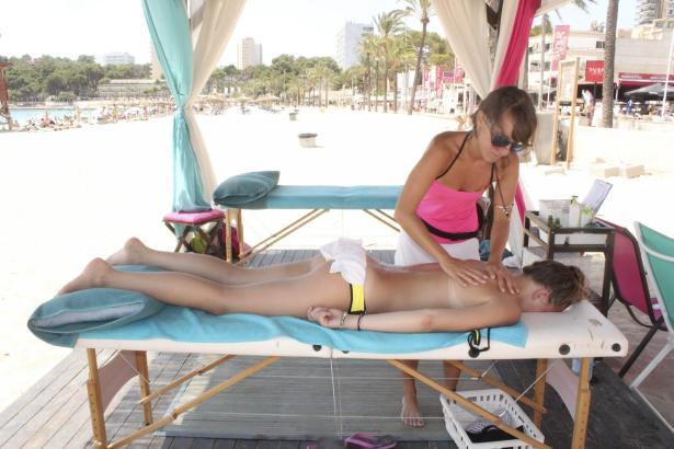 Professionelle Massage in Magaluf auf Mallorca.