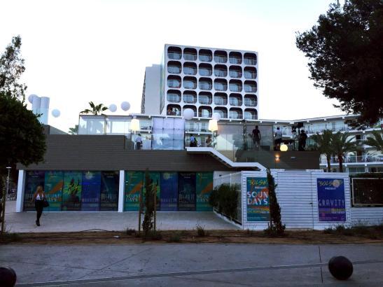 Das Hotel Sol House Trinidad befindet sich in Magaluf