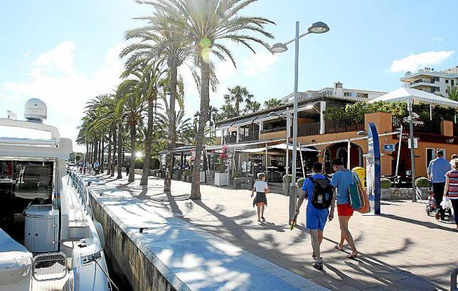 An der Promenade von Puerto Portals wird der Sunset Market stattfinden