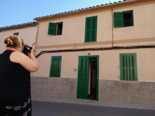 Die Bluttat trug sich in diesem Haus in Sant Jordi zu.
