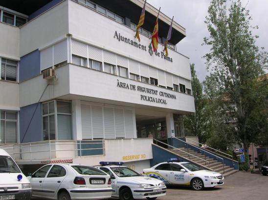 Die Hauptwache der Lokalpolizei in Palma.