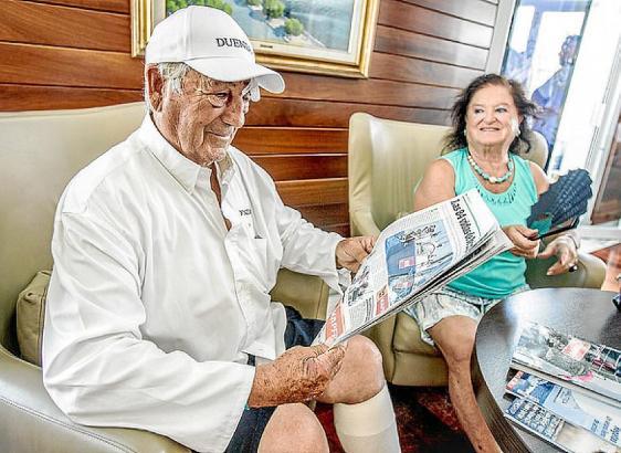 Jacinto Rodríguez und seine Frau Inés Mansilla am Tag nach der Rettung