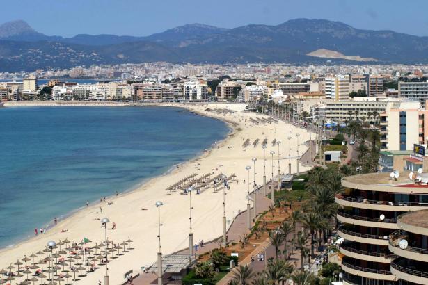 Der Streit trug sich in einem Hotel an der Playa de Palma zu.