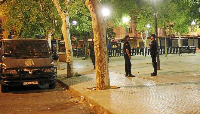 Die Polizei griff die mutmaßliche Täterin während einer Streife auf