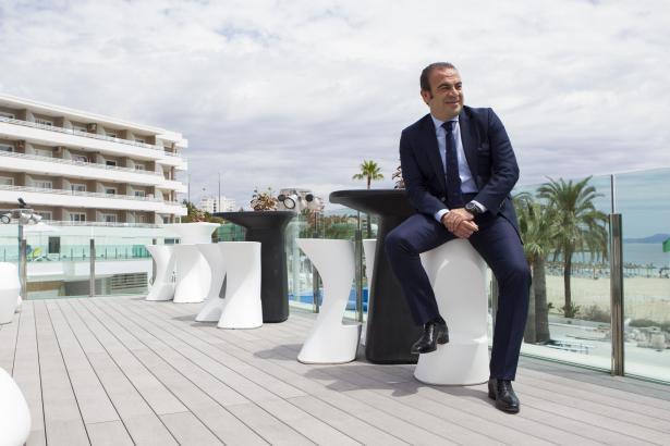 Konzern-Vizepräsident und Vorstandschef Gabriel Escarrer im einem der Häuser seines Unternehmens.