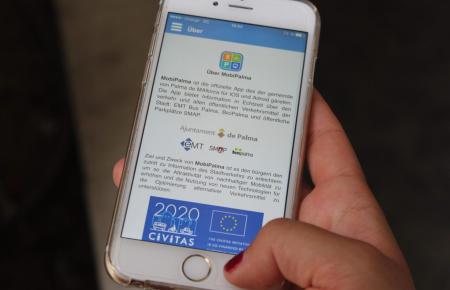 Die App Mobipalma hilft durch den Stadtverkehr