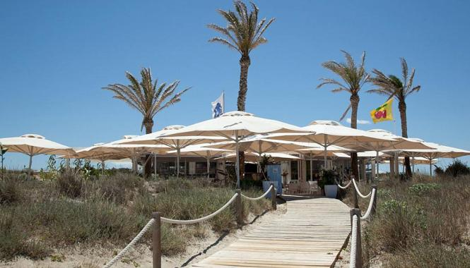 "Das Restaurant ""Juan y Andrea"" auf Mallorcas Nachbarinsel Formentera."