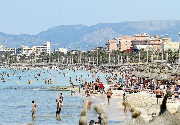 Die Playa de Palma: Tourimusmotor, Bettenburg, Familiendestination, Vergnügungsmeile.