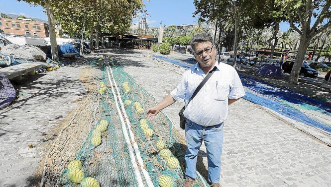 Rafael Mas von Mallorcas Berufsfischerverband.