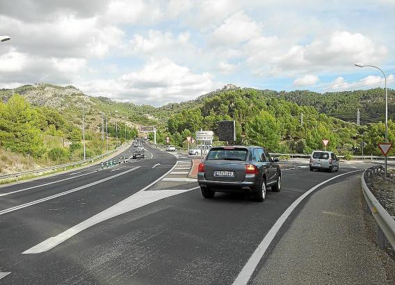Schauplatz zahlreicher Unfälle: Die Kreuzung von Camp de Mar, Mallorca.