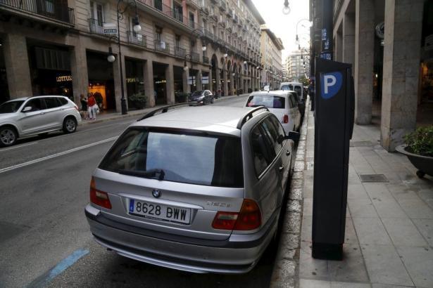 Die Parkautomaten in Palmas Innenstadt gehen außer Betrieb