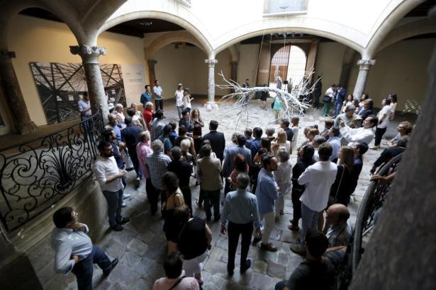 Die Galeristen freuten sich über regen Zuspruch auf der Nit de l'Art.