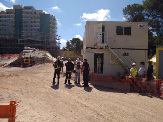 Nach dem tödlichen Arbeitsunfall auf Mallorca.