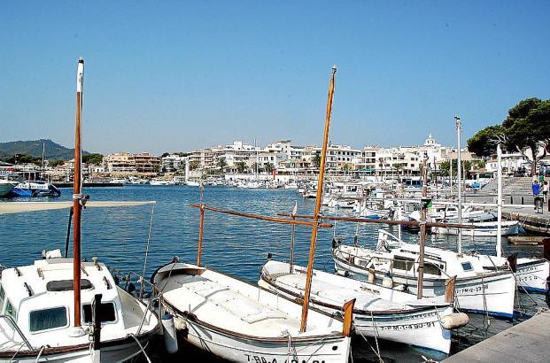 Der Hafen von Cala Rajada, Mallorca: Hier sollen bald kleine Kreuzfahrtschiffe anlegen.