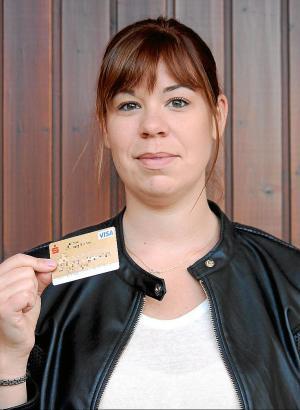 Anja Schaub wollte mit ihrer Visa-Karte am Flughafen ein Auto mieten
