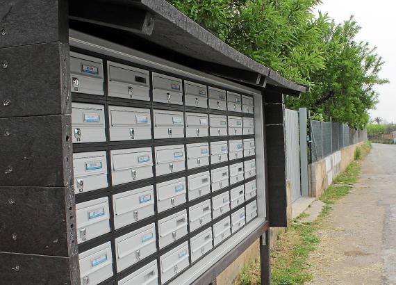 In Lloseta wurden in diesem Jahr Gemeinschaftsbriefkästen aufgestellt