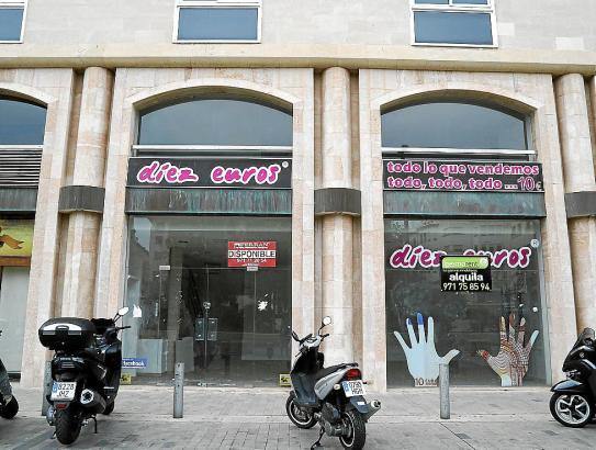 Zu vermieten: Ladengeschäft in Palma de Mallorca.