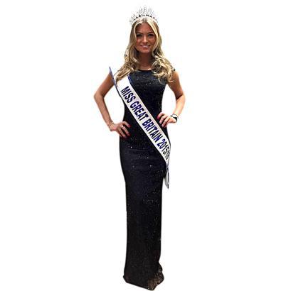 Miss Großbritannien, Zara Holland, ist 20 Jahre alt