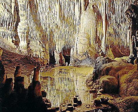 Eine beeindruckende und exotische Naturbühne sind die Cuevas del Drach.