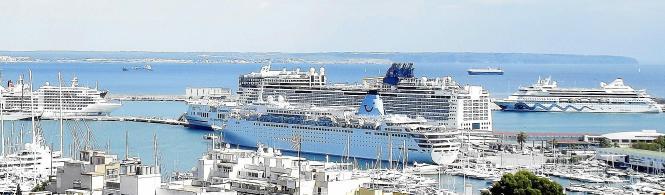 Mehr als zwei Millionen Euro erhofft sich die Balearen-Regierung durch die Steuereinnahmen der Kreuzfahrttouristen auf Mallorca.