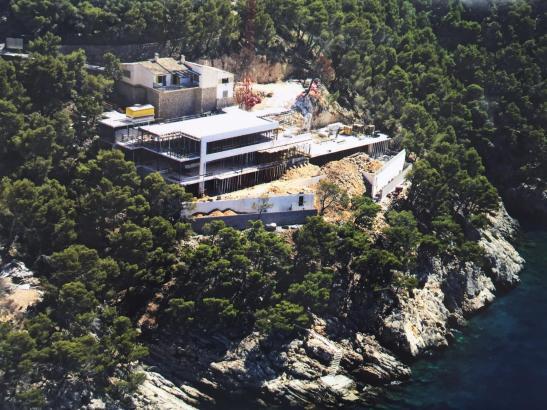 Umstrittenes Bauprojekt: Die Villa Cortina bei Pollença auf der Halbinsel Formentor.