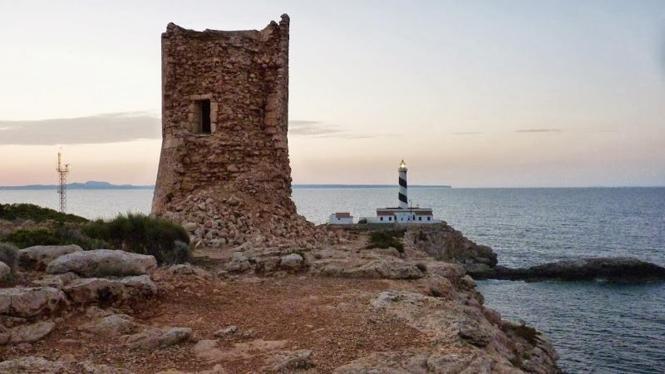 Aktuell ist der Turm von Cala Figuera auf Mallorca in sehr schlechtem Zustand.