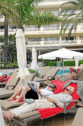 Gäste, die sich für einen Aufenthalt im Vanity Hotel in Port d'Alcúdia entscheiden, suchen vorallem Ruhe und Entspannung
