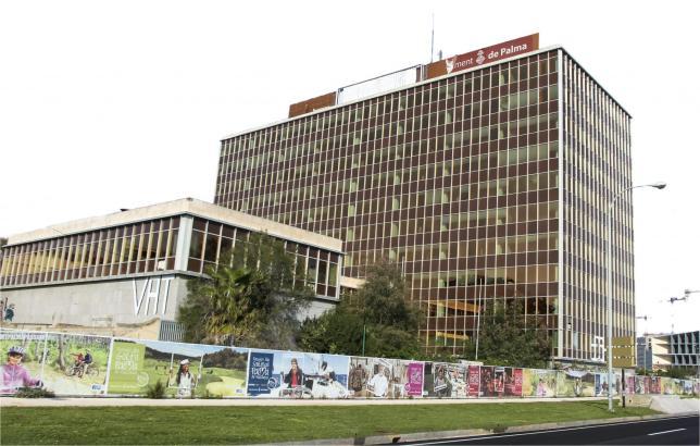 Der frühere Zentralsitz des Energieversorgers Gesa/Endesa könnte neuer Amtssitz des Inselrates von Mallorca werden.