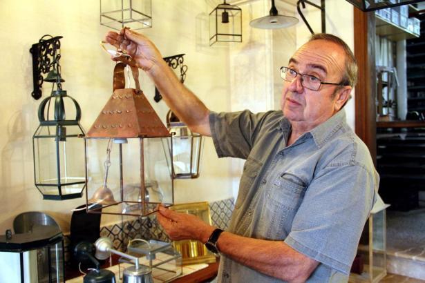 """Biel Cortés will Kurse veranstalten, damit das alte Handwerk des """"Llauners"""" nicht ausstirbt."""