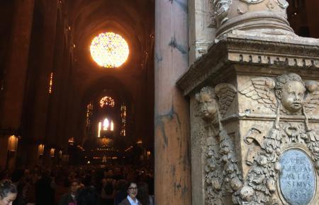 Das Lichtwunder in der Kathedrale