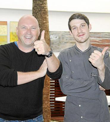 Mehr als fünf Jahre waren der Brite Marc Fosh (l.) und der junge Deutsche Marcel Reß ein erfolgreiches Team auf Mallorca.