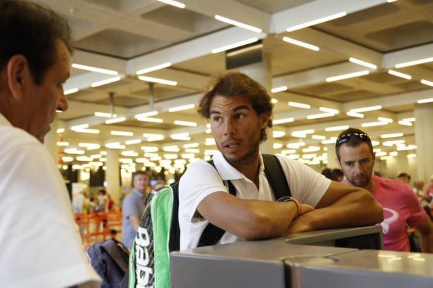Für Rafa Nadal war beim Turnier in London im Halbfinale Schluss.