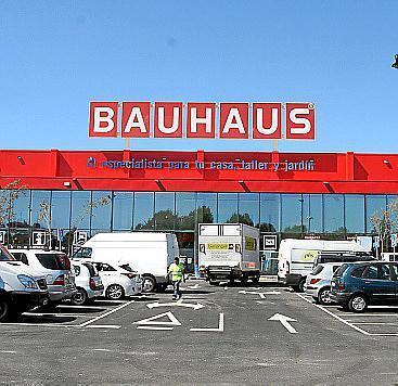 Die Bauhaus-Niederlassung in Marratxí.