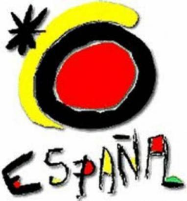 Joan Miró entwarf das Logo, das vom spanischen Fremdenverkehrsamt als Erkennungsmerkmal genutzt wird.